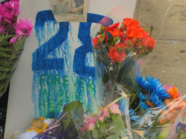 Luc Bourdon memorial: crying 28