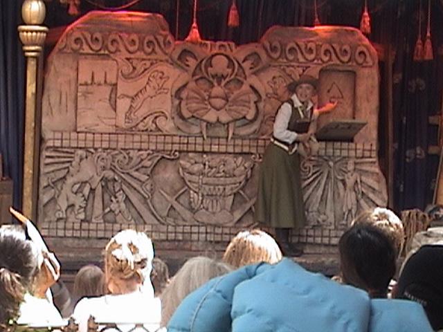 Indiana Jones™ and the Secret of the Stone Tiger Revealed!, Aladdin's Oasis Adventureland, Disneyland®, Anaheim, California, 2008.05.26 15:21