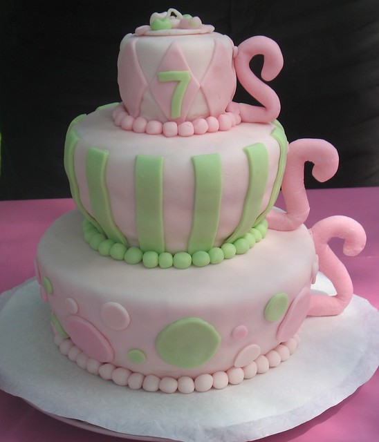 Tea Party Cake Images : Tea Party Cake Flickr - Photo Sharing!