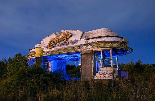 abandoned dogs night louisiana neon corny shreveport carneys