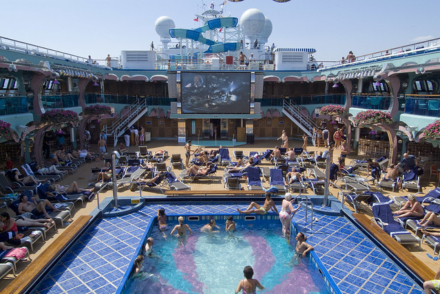 Carnival Splendor Lido Deck Explore Carnival Cruise