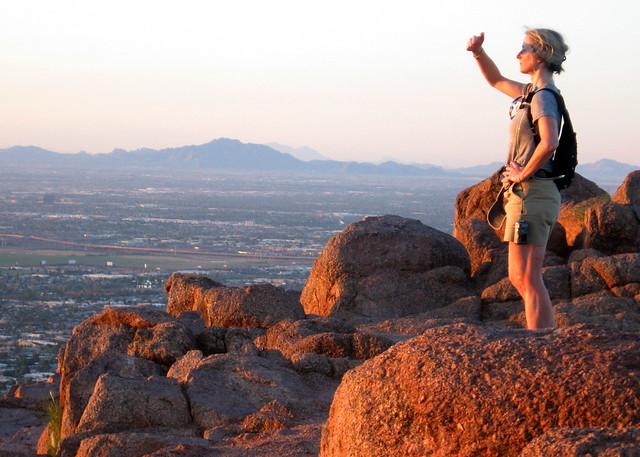 Scottsdale AZ - Camelback Mtn - b1 - 015-5x7
