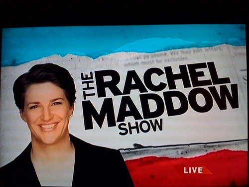 "I'm in LOVE with the ""Rachel Maddow Show"""