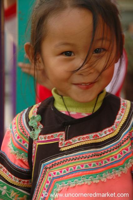 Hani Girl - Yunnan, China