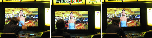 Video blackjack virtual dealer