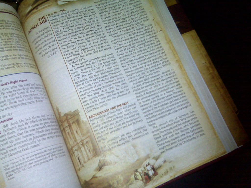 New study Bible