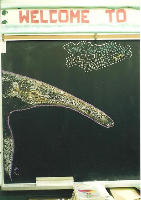 chalk anteater