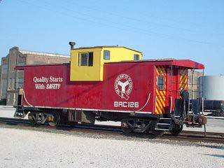 Belt Railway of Chicago caboose # 126. Bedford Park Illinois. August 2007. by Eddie from Chicago