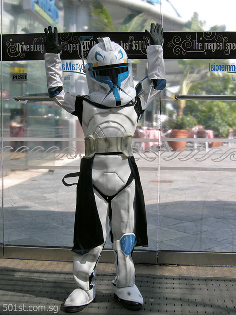 501st Legion Singapore Garrison Christmas Kettling