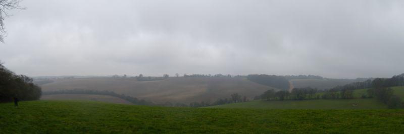 Panorama Saunderton circular via Bledlow