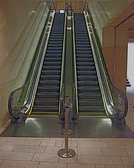 floor, handrail, escalator, stairs,