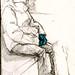 Blue gloves by G-star