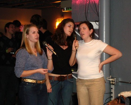 Karaoke at Tokyo Rose 2006