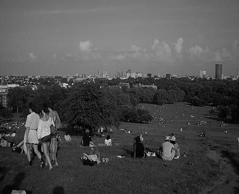 LONDON Primrose Hill 08 06 08