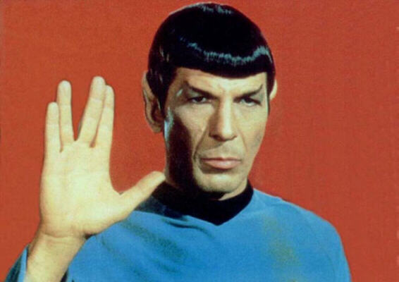"Mr. Spock from the original ""Star Trek"""
