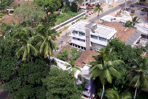 india rooftop kerala trivandrum thiruvananthapuram kowdiar heeravelmontpalace