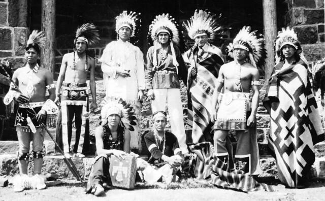 Indians Muskogee - Oklahoma 3 June 1933