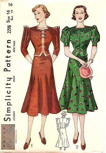 simplicity dress 2298