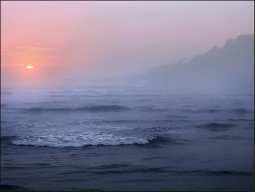 sunset oregon oregoncoast yachats