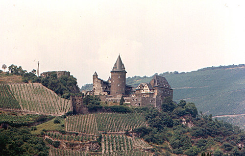 Roger Wollstadt's photo of Burg Stahleck, a 12th century castle turned youth hostel in Bacharach, Germany.