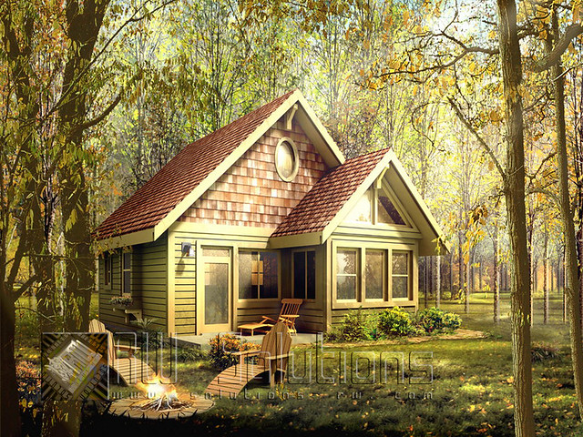 2944084420 b8334c906e - The house in the woods ...