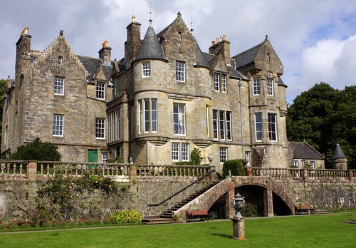 Torosay Castle Isle Of Mull United Kingdom