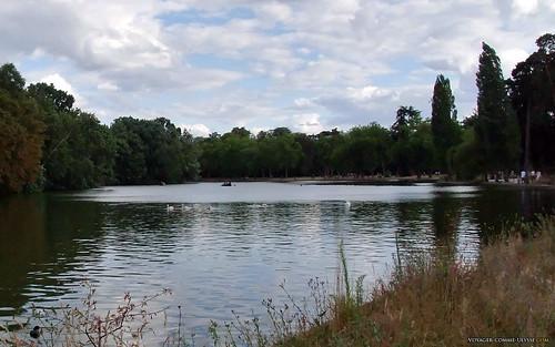 Lac Daumesnil du bois de Vincennes