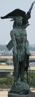 Image of Statue of Tamanend. philadelphia us 2008 06140615philadelphia