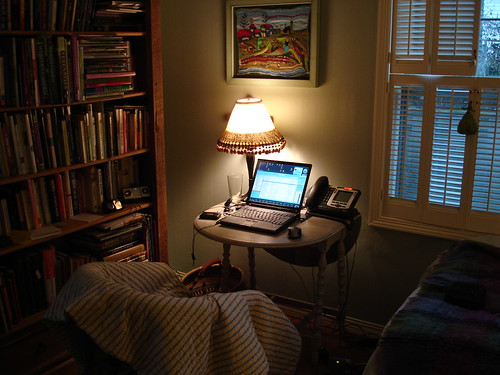 My Temporary Home Office