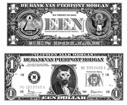 Cat money (J.P. Morgan)