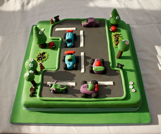 Cake Decorating Gardeners Road : car road cake Flickr - Photo Sharing!
