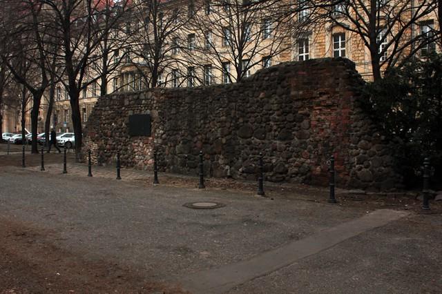 Le antiche mura di Berlino