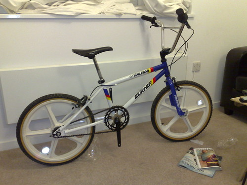 My new raleigh burner