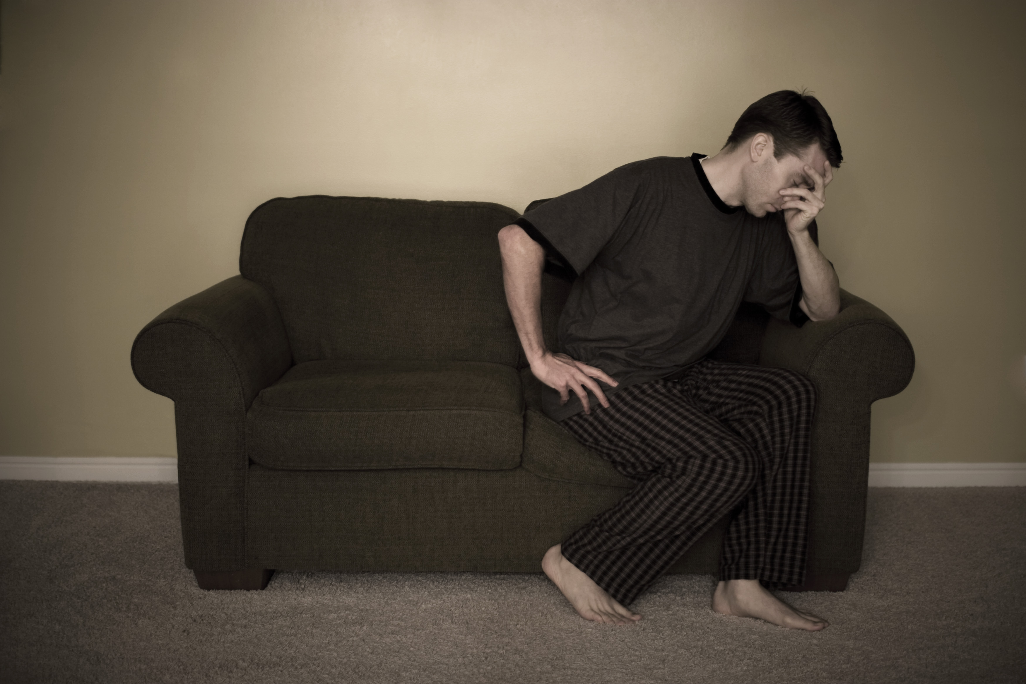 depression and foot pain