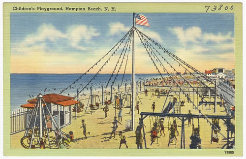 Children's Playground, Hampton Beach, N.H.