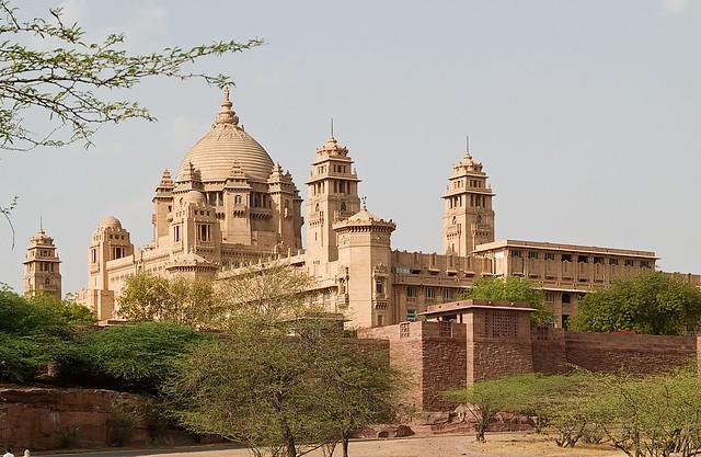Palacio de Umaid Bhawan, Rajastán, India.
