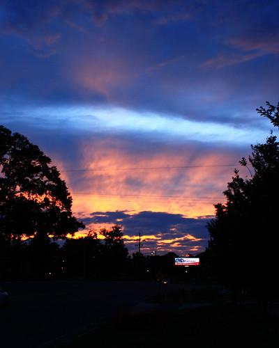 sunset sky night clouds raw cloudy dpp crepuscularrays 30d canon30d canonef28mmf18usm chrislin christopherlin