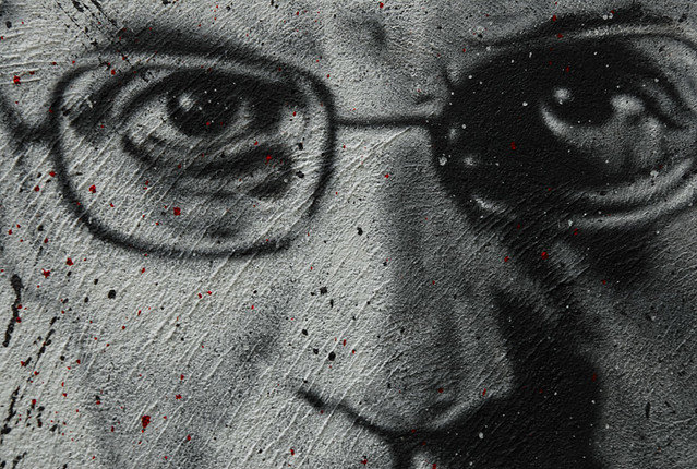 Michel Foucault, painted portrait DDC_7450.jpg