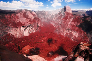 Yosemite in Red