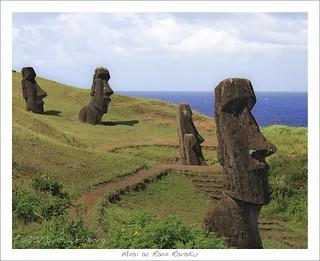 Five Moai