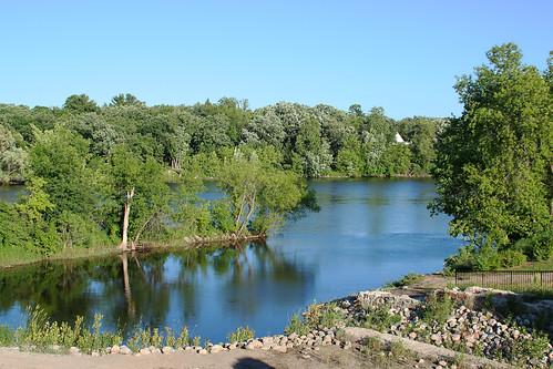park water minnesota littlefalls mississippiriver