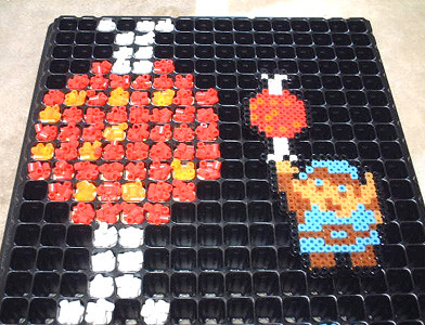 Link With Food Made From The Original Nes The Legend Of Ze Flickr
