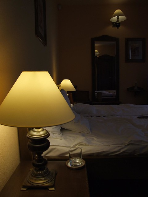 Our hotel room at Bella Muzica