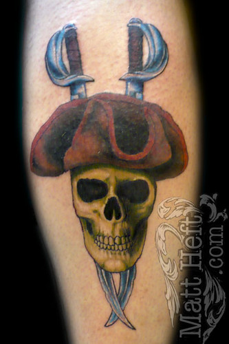 Pirate Skull Tattoo | Flickr - Photo Sharing!
