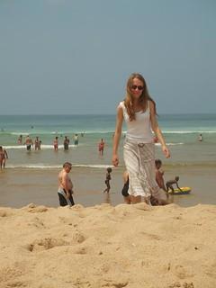 صورة Praia das Maçãs. beach portugal sand paddling praiadasmacas