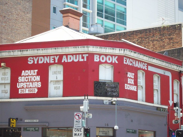 adult book exchange sydney