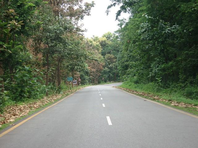 Beautiful Road - Near Kaladhungi Uttarakhand - a photo on ...
