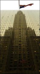 Edificio Chrysler reflejado