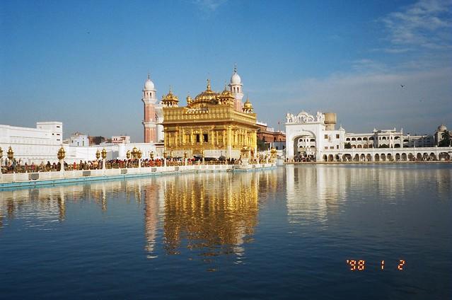 Golden Temple, Amritsar. Quite spectacular, very restful.