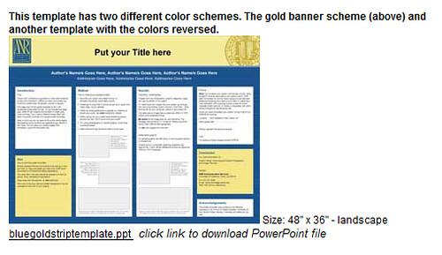 posterpresentations com templates - poster presentation template diigo groups